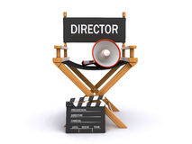 Directors chair Stock Photography