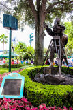 Directors statue at Hollywood Studios, Orlando. Royalty Free Stock Photo