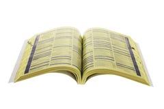 Directory del telefono Immagine Stock Libera da Diritti