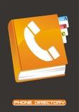 Directory del telefono Fotografia Stock Libera da Diritti