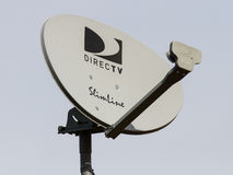 DirecTV Satalite on a roof Stock Photos