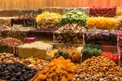 Dired-Früchte von einem Markt Stockbild