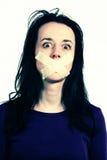 Direitas humanas - liberdade de expressão Foto de Stock Royalty Free