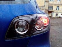 Direito da lâmpada traseira foto de stock