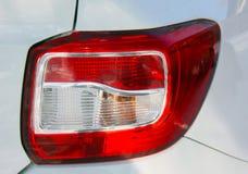 Direito traseiro externo Renault Logan da lanterna imagens de stock royalty free