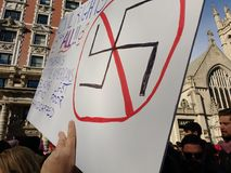 Direitos civis para tudo, NYC, NY, EUA Imagens de Stock Royalty Free