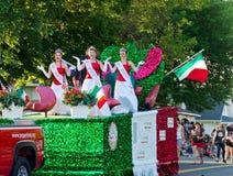 Direitos do Fest da pimenta na parada Imagem de Stock Royalty Free