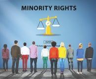 Direitos do julgamento da lei que pesam o conceito legal Imagem de Stock Royalty Free