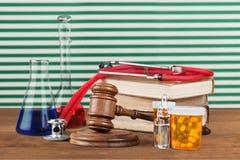 Direitos médicos imagem de stock