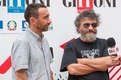 Direktörer Marco Manetti och Antonio Manetti royaltyfri bild