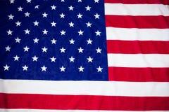Direkt über Schuss der Staatsflagge Stockbilder