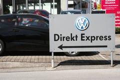 Direkt VW uttrycker Royaltyfri Foto