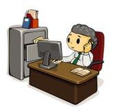 Direktor Calling Lizenzfreie Stockbilder