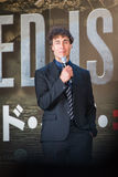 Direktor Dong Liman - 'Rand des Morgens' Japan-Premiere Lizenzfreie Stockfotos