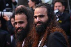 Direktoren Ahmad 'Tarzan' Abu Nasser (L) und Mohamed 'Araber' Abu Nasser stockfotografie