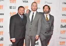 Direktoren und Produzenten von ` bemuttern ` Premiere am internationalen Film-Festival Torontos lizenzfreie stockbilder