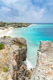 Direktornbucht Curaçao-Ansichten Stockfoto