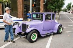 Direktstöt för 1925 Dodge bröder Arkivbild