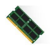 Direktzugriffsspeicherkonzept durch RAM-labtop 4GB oder 8GB oder 16GB Lizenzfreies Stockbild
