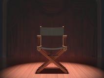 Diretor Cadeira Imagem de Stock