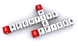 Diretor-executivo Officer Imagem de Stock