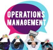 Diretor Líder Concept da autoridade da gestão de operações foto de stock