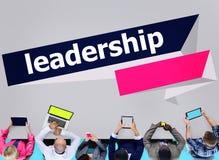 Diretor principal Conceito da gestão da autoridade da liderança fotografia de stock royalty free