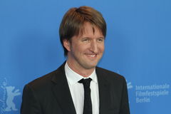 Diretor Tom Hooper Fotos de Stock
