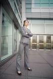 Direttore aziendale sicuro Fotografia Stock