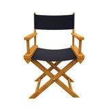 Direttore Chair Isolated Fotografia Stock Libera da Diritti