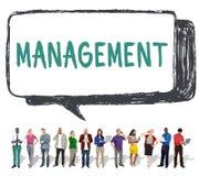 Direttore Managing Customize Concept di organizzazione della gestione Fotografia Stock Libera da Diritti