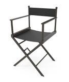 Direttori Chair isolata su bianco Immagini Stock
