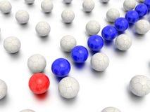 Direzione del labirinto e concetto di sport Immagine Stock