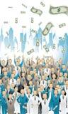 Direzione di affari Immagini Stock Libere da Diritti