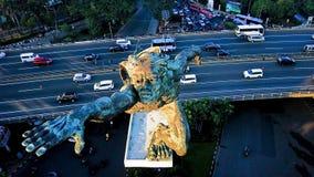 Dirgantara statue. At pancoran jakarta royalty free stock photography