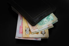 Dirhambankbiljet van de V.A.E Royalty-vrije Stock Foto's