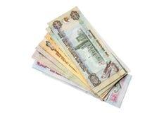 Dirhames de los UAE imagen de archivo libre de regalías