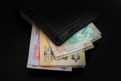 Dirhams Banknote lizenzfreie stockfotos