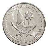50 dirhams de Catar Imagem de Stock