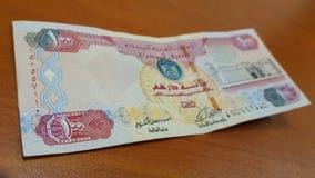 Dirhams 100 des EAU Images libres de droits