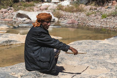 Dirhur,索科特拉岛,海岛,印度洋,也门,中东 免版税库存图片