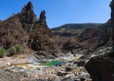 Dirhur, Socotra, eiland, Indische Oceaan, Yemen, Midden-Oosten Stock Afbeelding