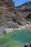 Dirhur, Socotra, eiland, Indische Oceaan, Yemen, Midden-Oosten Stock Fotografie