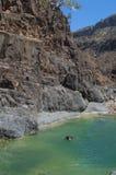 Dirhur, Socotra, eiland, Indische Oceaan, Yemen, Midden-Oosten Royalty-vrije Stock Foto's