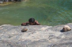 Dirhur, Socotra, ilha, Oceano Índico, Iémen, Médio Oriente Foto de Stock Royalty Free
