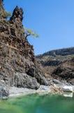 Dirhur, Socotra, wyspa, ocean indyjski, Jemen, Środkowy Wschód Obraz Stock