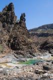 Dirhur, Socotra, wyspa, ocean indyjski, Jemen, Środkowy Wschód Obrazy Stock