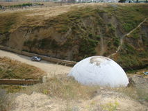 Diri酵母酒蛋糕陵墓,阿塞拜疆, Maraza 免版税库存图片
