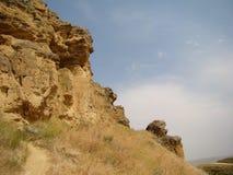 Diri Baba Mausoleum, Aserbaidschan, Maraza lizenzfreie stockfotografie