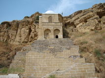 Diri Baba Mausoleum, Aserbaidschan, Maraza Stockfoto